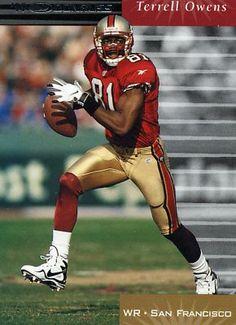 fd0a3d7be RARE 1999 DONRUSS TERRELL OWENS SAN FRANCISCO 49ERS MINT 49ers Players