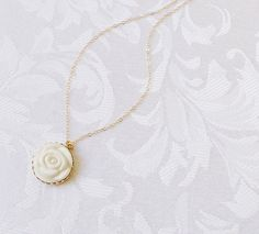 Contemporary Porcelain Rose Pearl Necklace Pearl Pendant, Pearl Necklace, Pendant Necklace, Love Symbols, Ethical Fashion, Fashion Inspiration, Porcelain, Fashion Jewelry