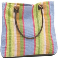 Dash & Albert Nantucket Woven Cotton Tote Bag Our carryall rug bag has a woven construction and is hand-loomed in durable cotton. With a generous capacity x x and genuine leather handles and bottom, this tote is both practical and fashionable. Dash And Albert, Rug Company, Bago, Cotton Tote Bags, Bag Sale, Leather Handle, Nantucket, Woven Cotton, Accessories