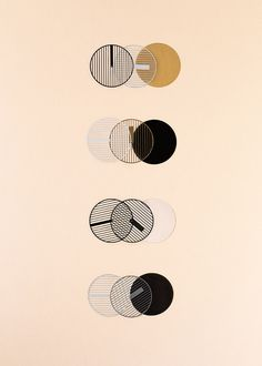 Colour combinations of Hatch Watch by Catherine Stolarski Design
