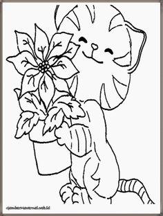 Gambar Lukisan Kucing Hitam Putih Cikimm Com