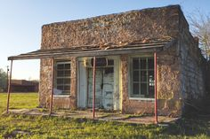 One of the oldest buildings in Clearview, Oklahoma, one of 13 black towns still in existence. Photo by Gail Banzet-Ellis.