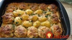 Great lunch in the oven: simple and tasty - All Recipes New Recipes, Dinner Recipes, Cooking Recipes, Mince Meat, Russian Recipes, Casserole Recipes, Food And Drink, Tasty, Lunch