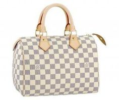 Louis Vuitton Damier Azur Canvas Speedy 25 N41534