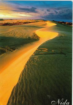 My World of Postcards: Curonian Spit, Lithuania
