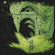 Fantasy Landscape, Landscape Art, Illustrations, Graphic Illustration, High Fantasy, Fantasy Art, Dungeons E Dragons, Fantasy Places, Environment Concept Art