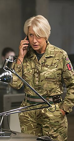 """Directed by Gavin Hood.  With Helen Mirren, Aaron Paul, Alan Rickman, Barkhad Abdi. A military officer in command of a drone operation to capture terrorists in Kenya sees her mission escalate from """"capture"""" to """"kill"""" just as a nine-year old girl enters the kill zone."""