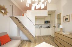 Location studio meublé Rue Coetlogon, Paris   Ref 13844