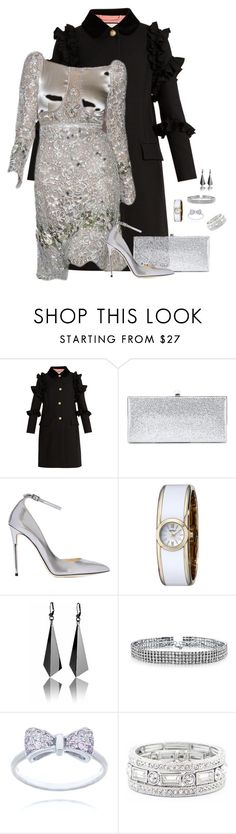 """""""Untitled #1868"""" by patsypatsy ❤ liked on Polyvore featuring Gucci, Jimmy Choo, Caravelle by Bulova, Bling Jewelry and Sole Society"""