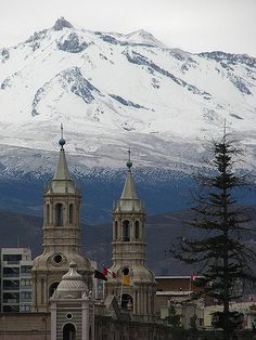Torres Catedral Arequipa