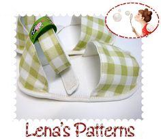 Summer Baby Sandals Sewing Pattern Easy PDF von LenasShoePatterns
