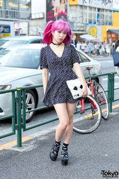 "BEAUTIFUL ... ""Asachill"" - techno pop singer (https://www.youtube.com/watch?v=MfUSp8WKtKk), fashion model, works at ""Kawaii Monster Cafe"" (1) http://tokyofashion.com/kawaii-monster-cafe-harajuku/ (2) https://www.youtube.com/watch?v=PhymZxZ4Vt0 (3) http://kawaiimonster.jp/    her previous looks are also AMAZING: (1) https://www.pinterest.com/pin/92675704811323454/ (2) https://www.pinterest.com/pin/92675704810741685/    4 October 2016   #Fashion #Harajuku (原宿) #Shibuya (渋谷) #Tokyo (東京) #Japan…"