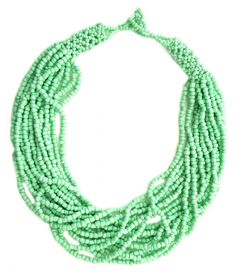 "Colier ""Summer party"" - Meli Melo - Paris Meli Melo, Beaded Necklace, Paris, Summer, Collection, Jewelry, Fashion, Beaded Collar, Moda"