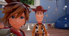 Sora Kingdom Hearts 3, Toy Story Funny, Sheriff Woody, Toy Boxes, Disney Characters, Fictional Characters, Christmas Ornaments, Disney Princess, Toys