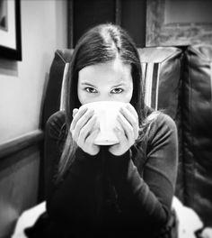 ☕ #cappuccino #coldday #bnw #costa #stockbridge #edinburgh #scotland #uk
