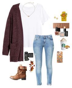 """it's gonna be winter soon ❄️☃️"" by kendallthackston on Polyvore featuring H&M, Zara, Nikon, Casetify, Urban Decay, NARS Cosmetics, Kendra Scott, OPI, Charlotte Russe and Tory Burch"