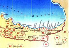 Interesting and intuitive information on the historic region of Pontus. Map, History, Romans, Greek, Historia, Location Map, Maps, Greece, Novels