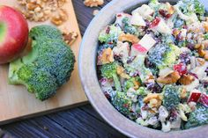 The Kitchen is My Playground: Broccoli & Apple Salad
