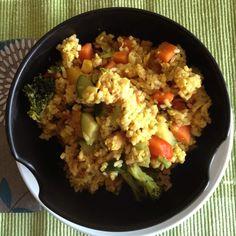 Rezept Gebratener Reis mit Sesam und Ei von jessie911 - Rezept der Kategorie Hauptgerichte mit Gemüse