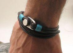 EXPRESS SHIPPING Custom jewelry Men's leather от eliziatelye