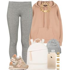 A fashion look from January 2016 by livelifefreelyy featuring TNA, New Balance, Want Les Essentiels de la Vie, Michael Kors and ASOS