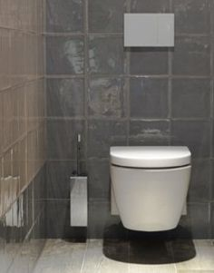 Vtwonen toilet inspiratie toilet pinterest toiletten en met - Behang voor toiletten ...