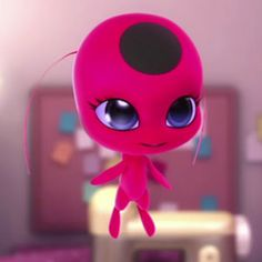 Tikki is soooo cute! I just want to squish her Little poofy cheeks