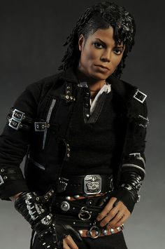 Hot Toys Michael Jackson Bad sixth scale action figure - Doll Stuff , Michael Jackson Doll, Invincible Michael Jackson, Barbie Celebrity, Diva Dolls, Dolls Dolls, African American Dolls, Beautiful Barbie Dolls, The Jacksons, Black Barbie