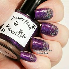 Repost from @mariasnailartandpolishblog  The @purrfectpawlish Anniversary Duo makes a great combo. The gorgeous purple is PurrPurr and the glitter is Pawsome! Follow the blog link in my bio to see more photos of it and read the entire review. You also find swatches of hundreds of other indies. To see all my swatches of this brand here on IG click this hashtag: #purrfectpawlishonmariasnailartandpolishblog #nailstagram #nails #instanails #nailpolish #manicure #swatches #ournailworld…