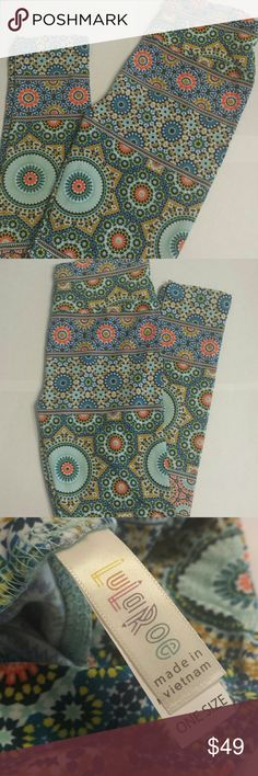 377735f773d68a LuLaRoe OS leggings kaleidoscope Unicorn rare LuLaRoe OS leggings  kaleidoscope Unicorn rare stained glass coloring book