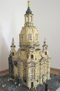 Legos Church in  Dresden, Germany