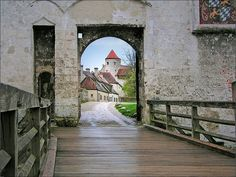 Burghausen - on the medieval castle, Germany