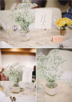 diy shabby chic wedding decorations | Found on weddingchicks.com