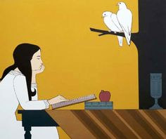 Introspection AP 1972 by Will Barnet