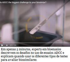 Biossimilares: vídeo mostra fatores a se considerar quando usados ensaios ADCC