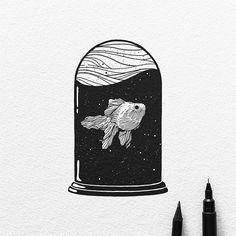 Le illustrazioni tascabili di Dario Anzà | PICAME