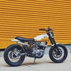 BikeBound — For Sale! Yamaha SR500 by @danielpeterphoto....