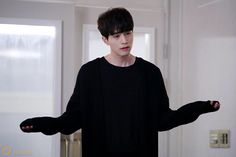 Asian Actors, Korean Actors, Korean Dramas, Korean Idols, Grim Reaper Goblin, Chanyeol, Lee Dong Wook Goblin, Goblin Korean Drama, Goblin Kdrama