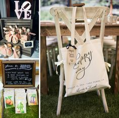Wedding Gifts For Bride And Groom - Rustic Lake Tahoe Summer Wedding Edible Wedding Favors, Best Wedding Favors, Wedding Bag, Wedding Favor Bags, Wedding Favors For Guests, Personalized Wedding Favors, Mod Wedding, Wedding Gifts, Wedding Summer