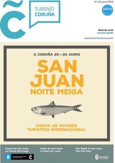 Ya puedes descargar la guía de ocio de a #ACoruña para este mes de junio =) El gran protagonista, por supuesto, el #SanXoán2016 #NoiteMeiga