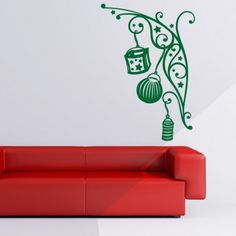 xmas christmas decoration wall art stickers wall decal - Christmas Wall Decal