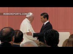 Francisco ante el presidente y autoridades: En México hay una necesidad ...
