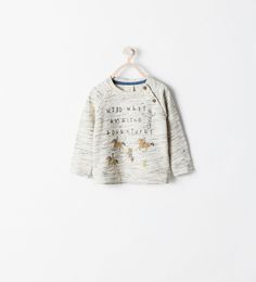 ZARA - KIDS - PRINTED SWEATSHIRT