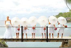 Pretty pictured parasols