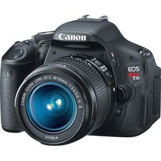 Canon Rebel T3i DSLR - birthday present from Thomas <3 I can't wait to get started with it