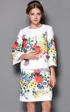 ii-TWO PCS SET-EZI-38019-AS-THE-PIC - Floral Print - SALE on buyinvite.com.au<3<3<3