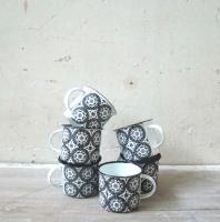 8cm mug moorish pattern