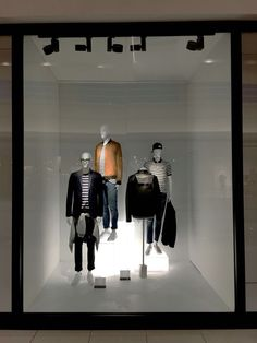 s visual window @ del amo fashion center. Retail Windows, Store Windows, Shop Front Design, Store Design, Display Design, Visual Merchandising, Club Monaco, Jamel, Porches