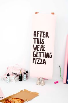 LET& GET PHYSICAL! look, we& into working out. we& also into NOT working out. and we& definitely WAAAYYY into pizza. Words Quotes, Wise Words, Sayings, Make Me Happy, Make Me Smile, You Better Work, Word Up, Cute Little Things, Mat Exercises