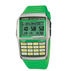 Casio Databank: A traditional compliment to the Casio G-Shock line, the Databank served up a wealth of Casio Databank, Casio Gold, Casio Watch, Geek Watches, Cool Watches, Watches For Men, Funny Couple Shirts, Lovers Pics, Digital Watch